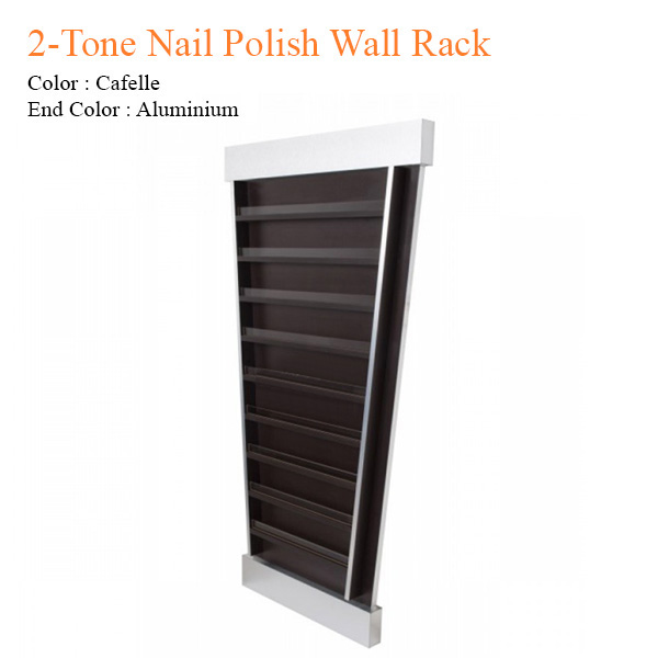 2-Tone Nail Polish Wall Rack – 58 inches