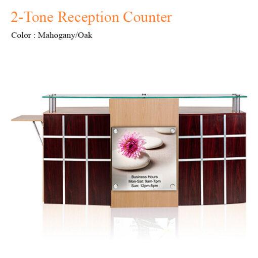 2-Tone Reception Counter – 72 inches