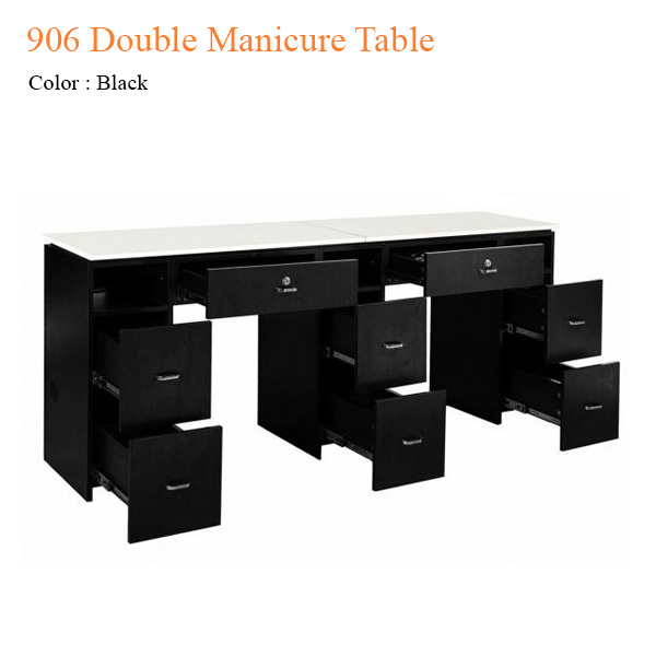 906 Double Manicure Table – 71 inches