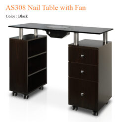 AS308 Nail Table with Fan – 48 inches 01 247x247 - Equipment nail salon furniture manicure pedicure