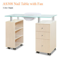 AS308 Nail Table with Fan – 48 inches 03 247x247 - Equipment nail salon furniture manicure pedicure