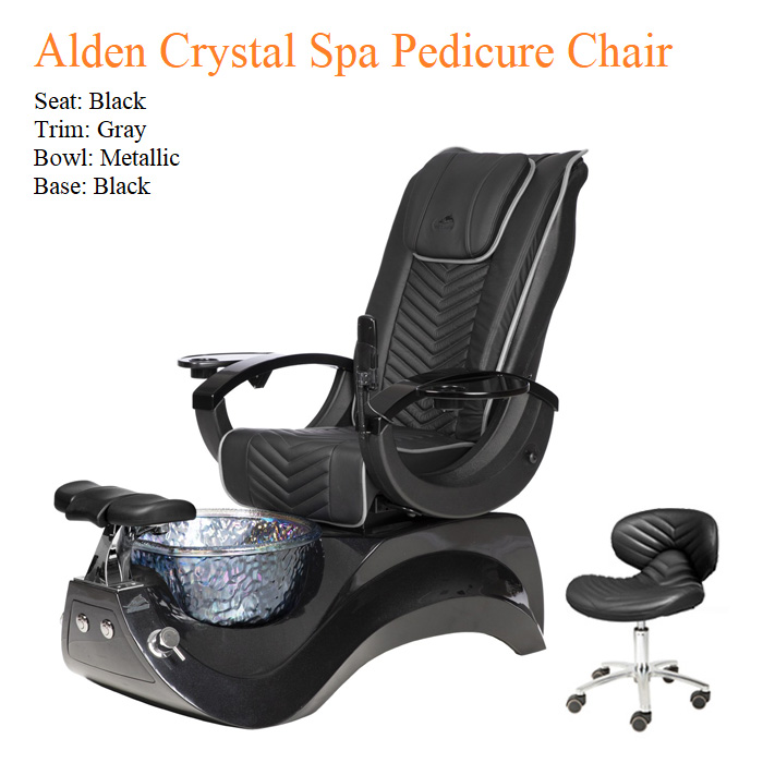 Alden Crystal Luxury Spa Pedicure Chair with Magnetic Jet – High Quality – PROMOTION