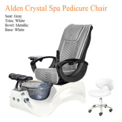Alden Crystal Luxury Spa Pedicure Chair with Magnetic Jet – High Quality 07b 247x247 - Top Selling