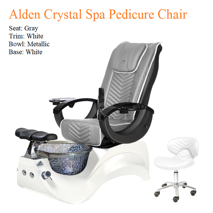 Alden Crystal Luxury Spa Pedicure Chair with Magnetic Jet – High Quality 07b - All Best Deals