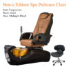 Bravo Value Edition Spa Pedicure Chair with Magnetic Jet – American-Made