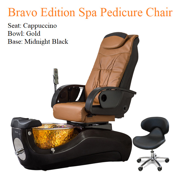Bravo Luxury Edition Spa Pedicure Chair with Magnetic Jet – American Made 05 - Khuyến mãi