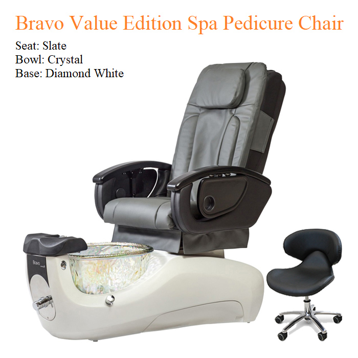 Bravo Value Edition Spa Pedicure Chair with Magnetic Jet – American Made 01 - All Best Deals