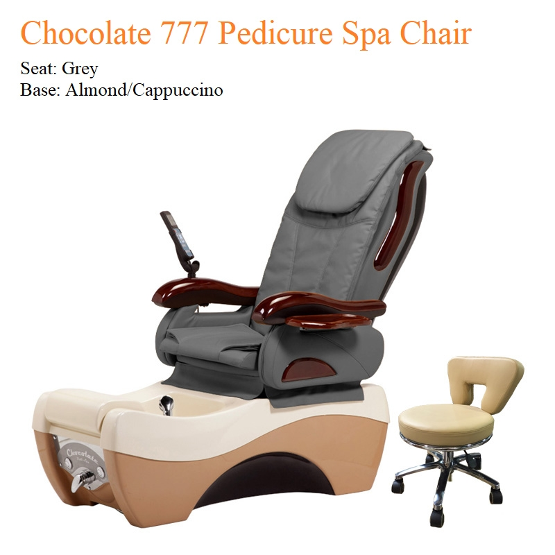 Chocolate 777 Spa Pedicure Chair with Magnetic Jet