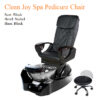 First Class Luxury Spa Pedicure Chair with Magnetic Jet – Shiatsu Massage System
