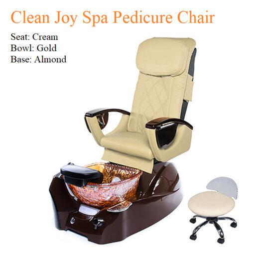 Clean Joy Luxury Spa Pedicure Chair with Magnetic Jet – Shiatsu Massage System