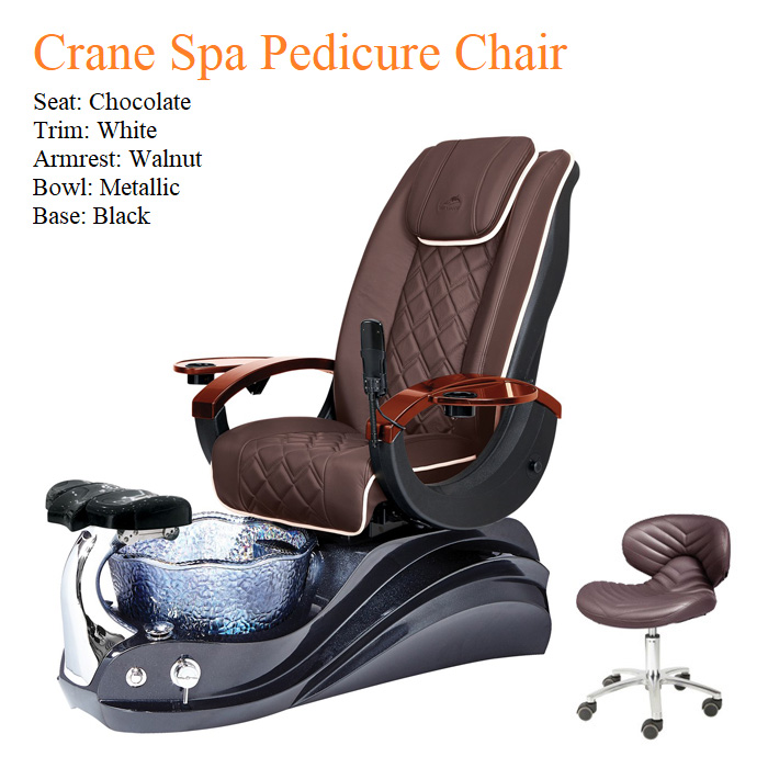 Crane Luxury Spa Pedicure Chair with Magnetic Jet – High Quality
