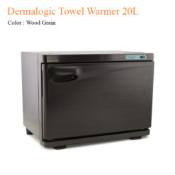 Dermalogic Towel Warmer 20L (Wood Grain) – 18 inches