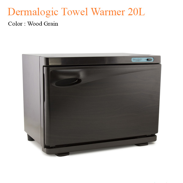 Dermalogic Towel Warmer 20L (Wood Grain) – 18 inches