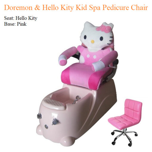 Doremon & Hello Kity Kid Spa Pedicure Chair with Magnetic Jet