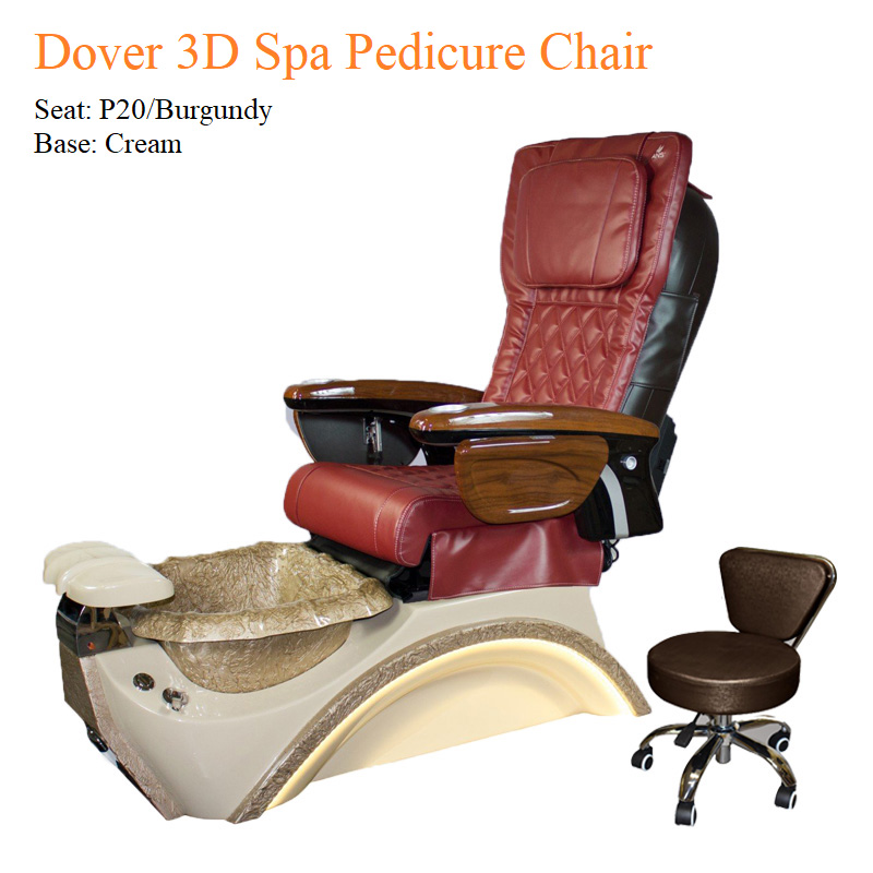 Dover 3D Spa Pedicure Chair with Magnetic Jet – High Quality