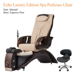 Echo Luxury Edition Spa Pedicure Chair with Magnetic Jet – American Made 02 247x247 - Equipment nail salon furniture manicure pedicure
