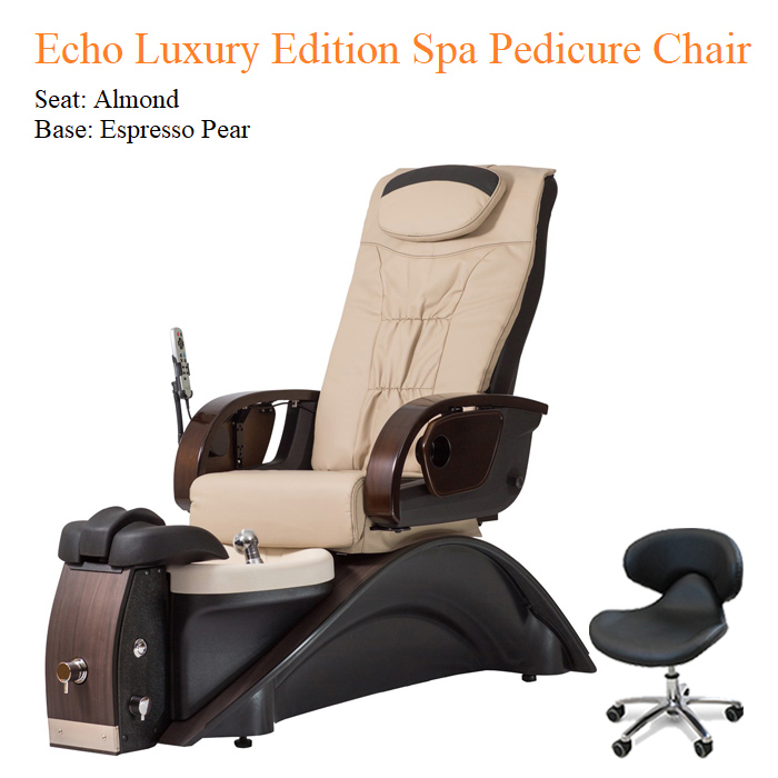 Echo Luxury Edition Spa Pedicure Chair with Magnetic Jet – American-Made