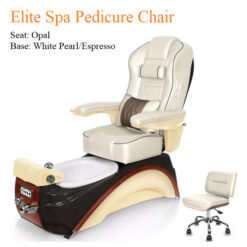 Elite Luxury Spa Pedicure Chair with Magnetic Jet and Tru-Touch™ Shiatsu Massage