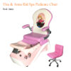 Valentino Luxury Spa Pedicure Chair with Magnetic Jet – High Quality