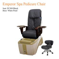 Emperor Spa Pedicure Chair with Magnetic Jet – Shiatsu Massage System