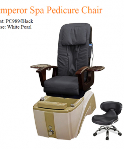 Emperor Spa Pedicure Chair with Magnetic Jet – Shiatsu Massage System