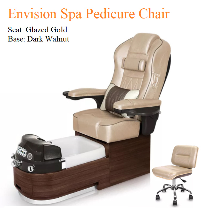 Envision Luxury Spa Pedicure Chair with Magnetic Jet and Tru-Touch™ Shiatsu Massage