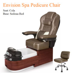 Envision Luxury Spa Pedicure Chair with Magnetic Jet and Tru Touch™ Shiatsu Massage 02 247x247 - Equipment nail salon furniture manicure pedicure