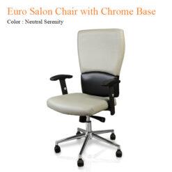 Euro Salon Chair with Chrome Base 40 inches 0 247x247 - Equipment nail salon furniture manicure pedicure