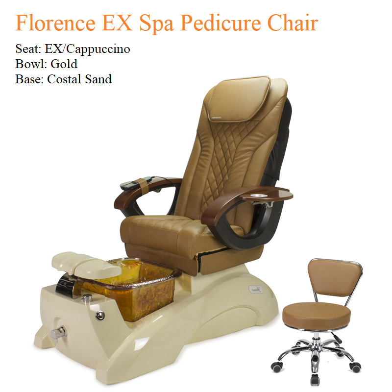 Florence EX Luxury Spa Pedicure Chair with Magnetic Jet – Shiatsulogic Massage System