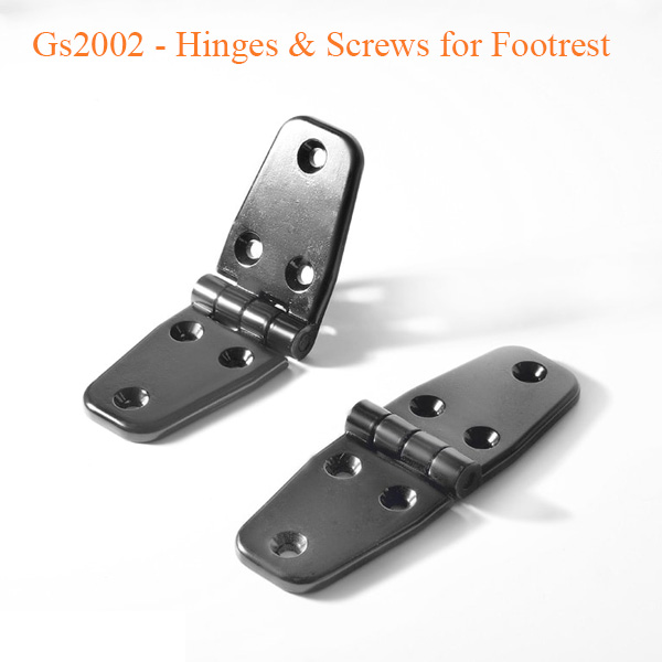 Gs2002 – Hinges & Screws for Footrest