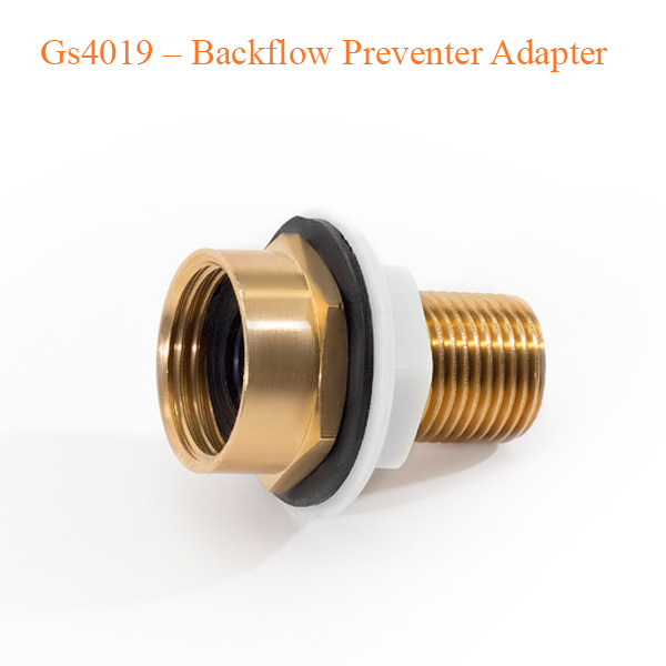 Gs4019 – Backflow Preventer Adapter