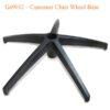 Gs9032 – Customer Chair Wheel Base 100x100 - Đế Chân Ghế Khách Hàng Gs9032