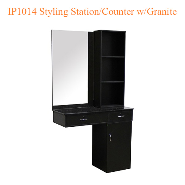 IP1014 Styling Station Counter with Granite – 75 inches