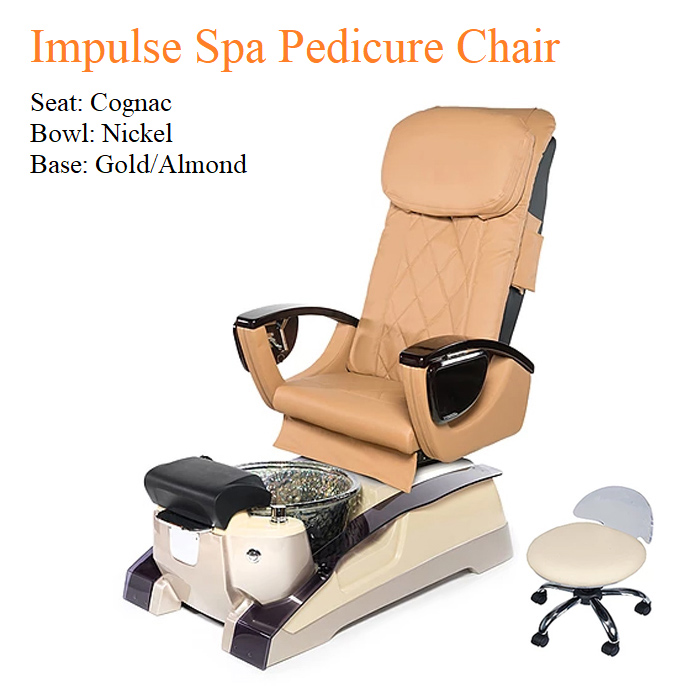 Impulse Luxury Spa Pedicure Chair with Magnetic Jet – Shiatsu Massage System 01 - Khuyến mãi