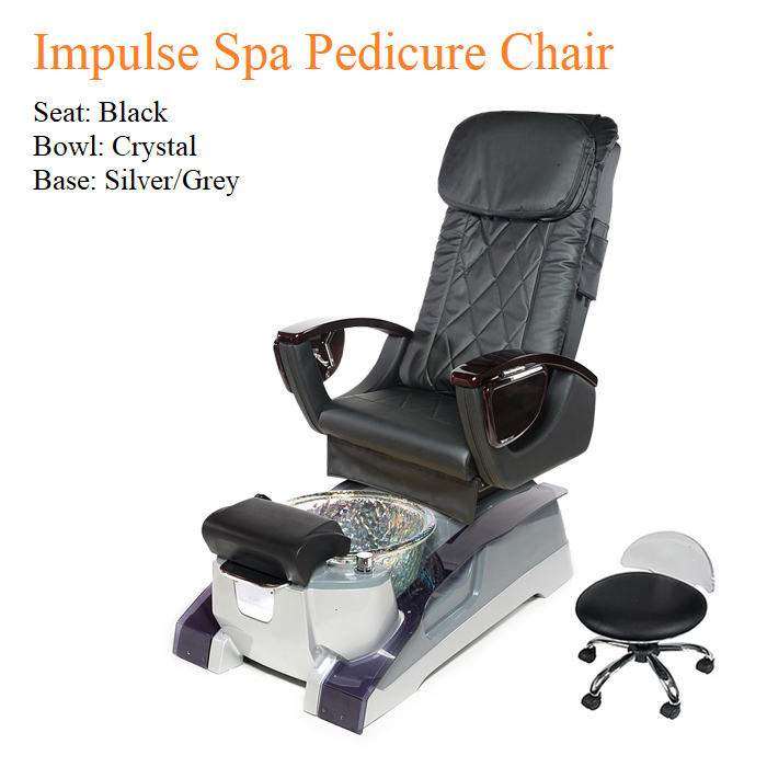 Impulse Luxury Spa Pedicure Chair with Magnetic Jet – Shiatsu Massage System