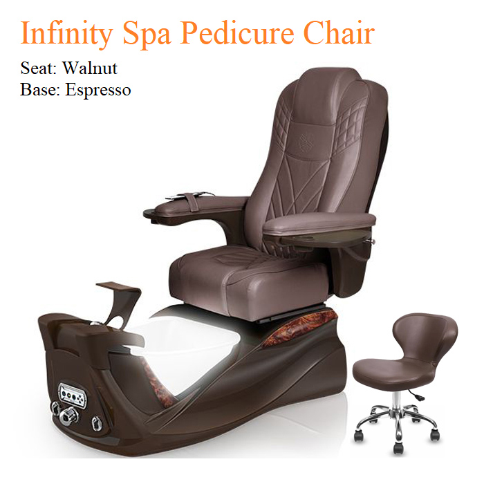 Infinity Spa Pedicure Chair with Magnetic Jet and Tru-Touch™ Shiatsu Massage