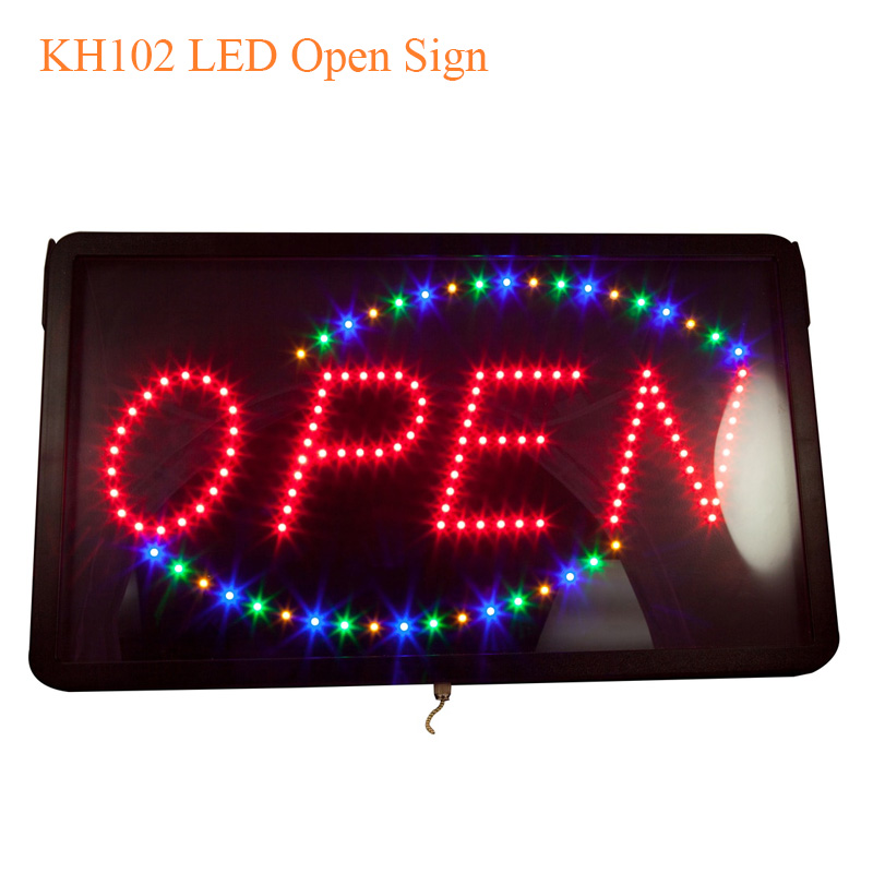 KH102 LED Open Sign