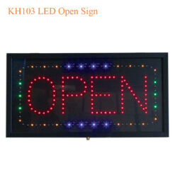 KH103 LED Open Sign 247x247 - Pedicure Spa, Nail Table, Furniture & Equipment