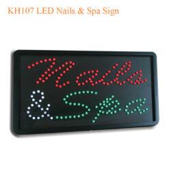 KH107 LED Nails & Spa Sign