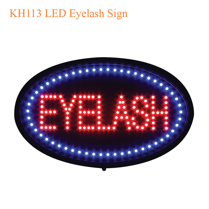 KH113 LED Eyelash Sign