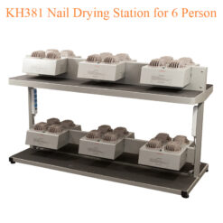 KH381 Nail Drying Station for 6 Person – 71 inches