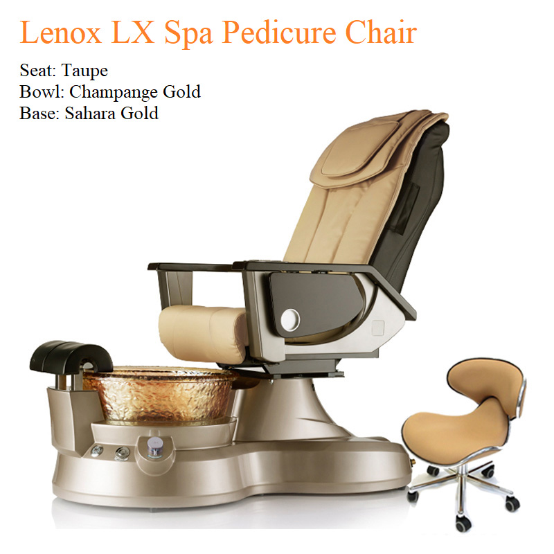 Lenox LX Luxury Spa Pedicure Chair – High Quality with American-Made