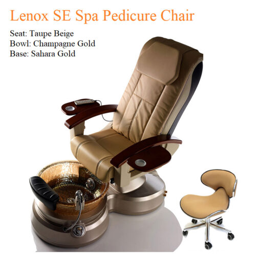 Lenox SE Luxury Spa Pedicure Chair – High Quality with American-Made