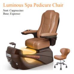 Luminous Spa Pedicure Chair with Magnetic Jet and Tru-Touch™ Shiatsu Massage