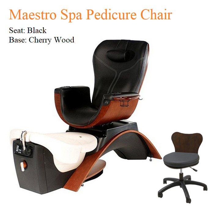 Maestro Luxury Spa Pedicure Chair with Magnetic Jet – Vibra-Heat Massage System