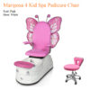 Mariposa 4 Kid Spa Pedicure Chair with Magnetic Jet