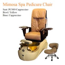 Mimosa Spa Pedicure Chair with Magnetic Jet – Shiatsu Massage System 01 247x247 - Equipment nail salon furniture manicure pedicure