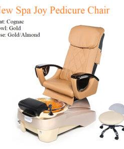 New Spa Joy Luxury Pedicure Chair with Magnetic Jet – Shiatsu Massage System