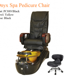 Onyx Spa Pedicure Chair with Magnetic Jet – Shiatsu Massage System