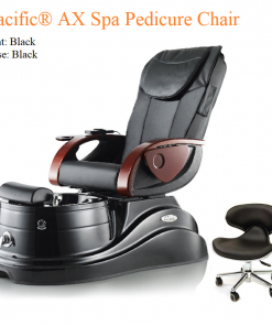 Pacific® AX Luxury Spa Pedicure Chair – High Quality with American-Made